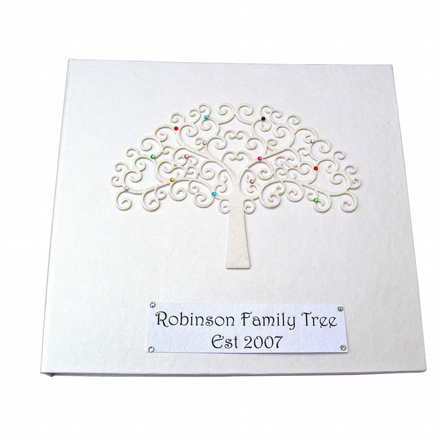 Family Tree Album or Scrapbook