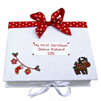 First Christmas Keepsake Box - Large