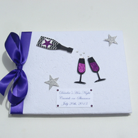 Personalised Hen Night Guest Book - Champagne!