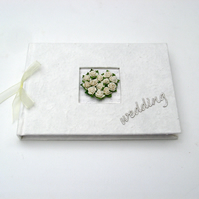 Wedding Guest Book - Rose Heart