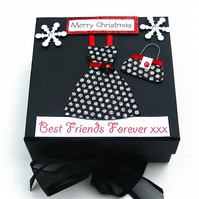 Sale Best Friends Forever Black Keepsake Box