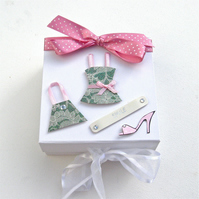 One Day Sale Little Pink Dress Keepsake Box