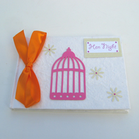 Birdcage Hen Night Book
