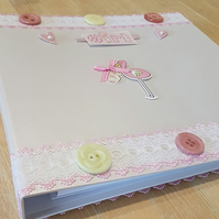 New Baby Girl Record Book