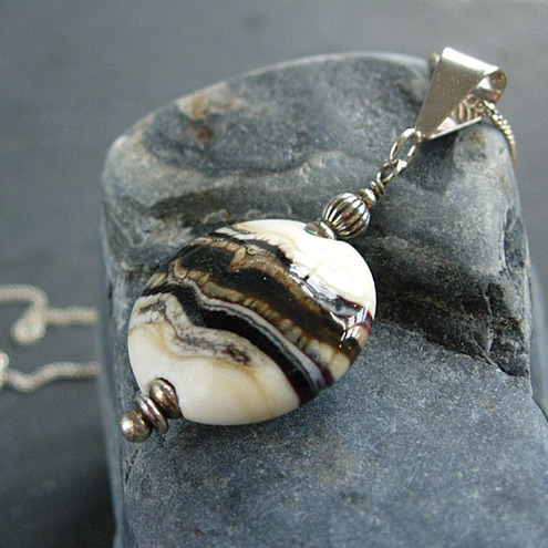 Eartha Lampwork Glass Pendant
