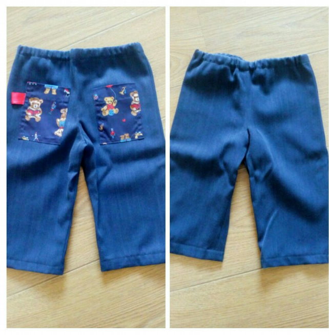Handmade boys trousers