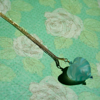 Tranquil Heart Pendant Necklace