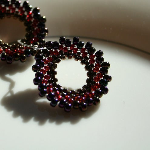 Circle Earrings - Morgan
