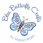 Blue Butterfly Crafts