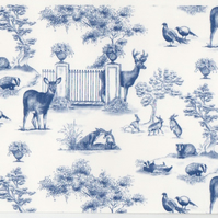 Decals for ceramics or glass, kiln fired - Blue Parkland transfer