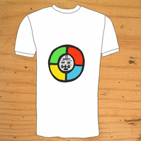 Simon Computer Game Retro T-Shirt