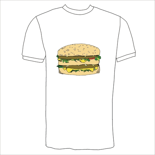 'Big Mac' Burger T-Shirt
