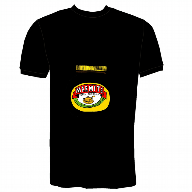 Hand Drawn Marmite Tribute T-Shirt