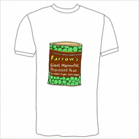 Tin Of Peas T-Shirt  (British Classics)