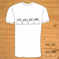 Pacman Ghosts T-Shirt