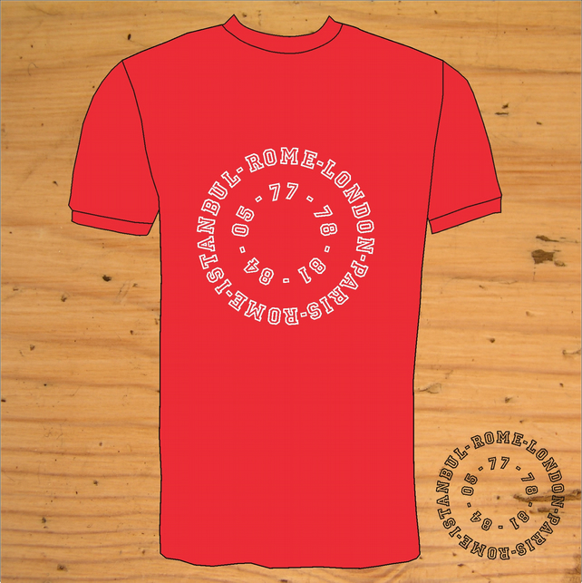 Liverpool T-Shirt  European Retro Style