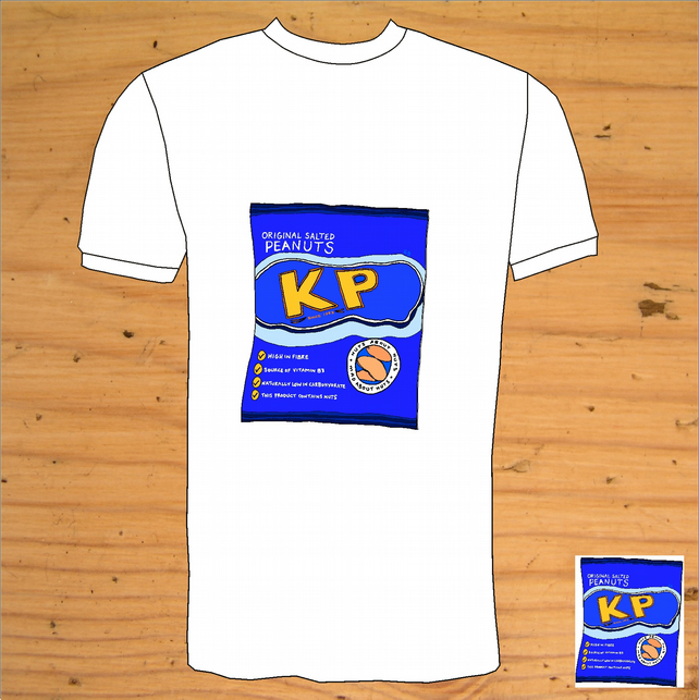 KP nuts Hand Drawn  T-Shirt