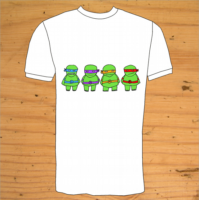 'Teenage Mutant Turtles Team'  T-Shirt