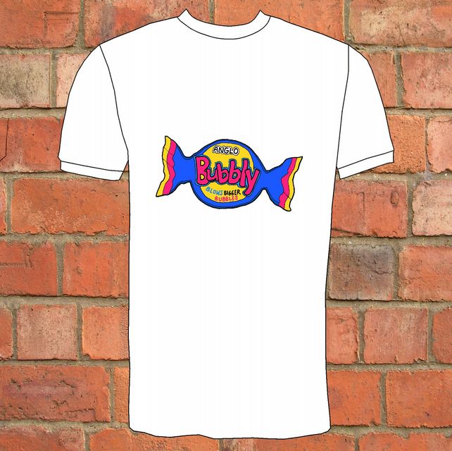 Anglo Bubbly Retro T-Shirt