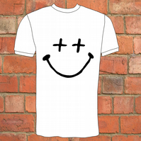Hand Drawn Smiley T-Shirt