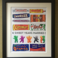 Favourite Sweets Framed Print
