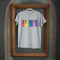 Colour Piano Keys T-Shirt