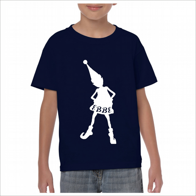 Childrens'  Personalised Elf  T-Shirt