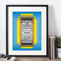 Top Ten Favourite Things  Framed Print