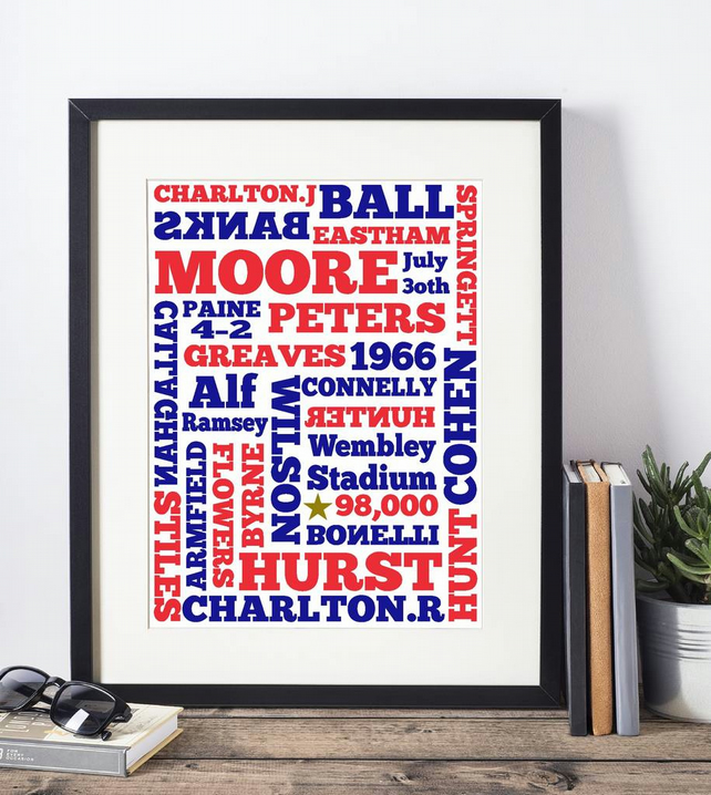 World Cup Winners Framed Print