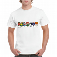 Vintage Bicycle Badge T-Shirt