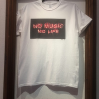 No Music No Life  T-Shirt