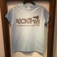 Rocketman Records Retro Style T-Shirt