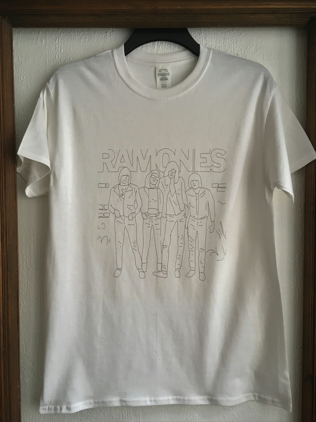 Ramones Hand Drawn T-Shirt