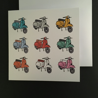 Scooters All Purpose Card
