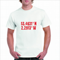 Favourite Football Team Coordinates T-Shirt