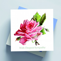 'With Deepest Sympathy' Card