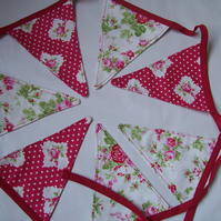 Bunting (for the LoVe of roses)