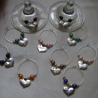 Individual Named Wedding Glass Decorations!