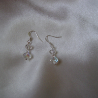 Bride - Bridesmaid - Prom Crystal Drop Earrings