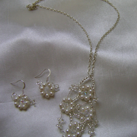 Agnetha - Bridal Necklace & Earring Set