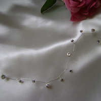 Diamante Hair Vine - Bride- Bridesmaid - Prom - Special Occasion