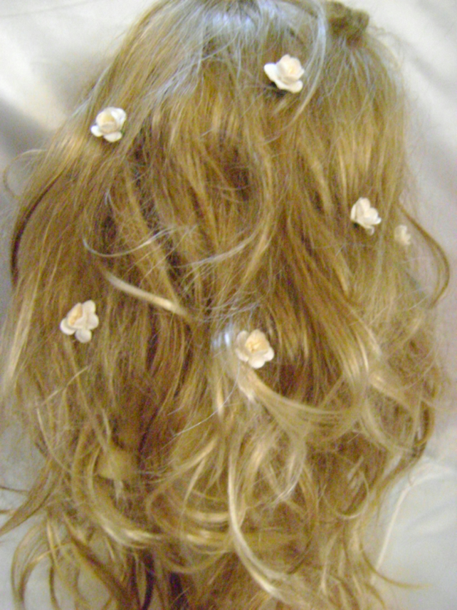 Six Cherry Blossom Hairpins