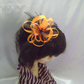 Chocolate Orange Headband Fascinator