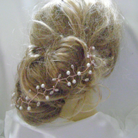 Remi- Boho Chic - Rose Gold Hairvine- Also available in Silver & Gold