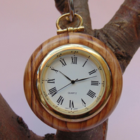 Olivewood Pocket Watch