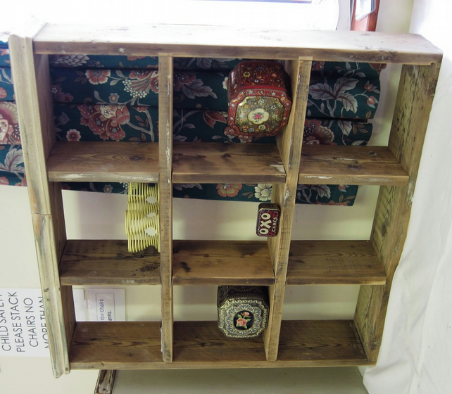 French country style open storage unit