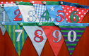 Button together bunting!
