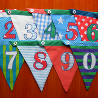 Foreverish Birthday bunting- all your bunting needs in one!