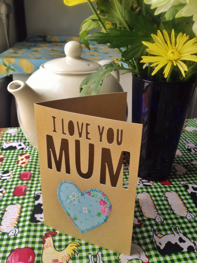 card for mum