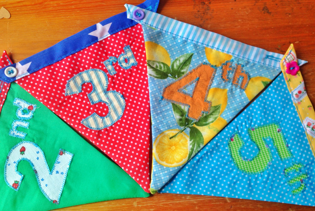 Age add ons for bunting banner
